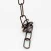 Antique Plated Open Link 38mm Lighting Chain [PLU1602]