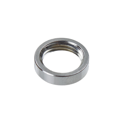 Chrome Ring Nut For 10mm Threads [PLU10243]