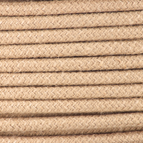 Rope Round Fabric Cable 3Core 2166356