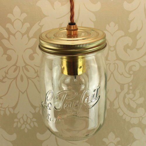 Le Parfait 1Ltr Super Single with Wired Lampholder
