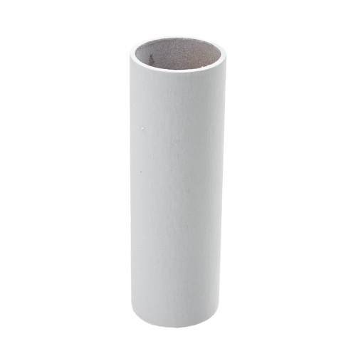 Plain White Candle Tube Cover 24 x 85mm [3037394]