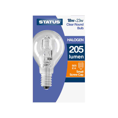 18w SES Golf Ball Energy Saving Halogen Lamp [3105941]