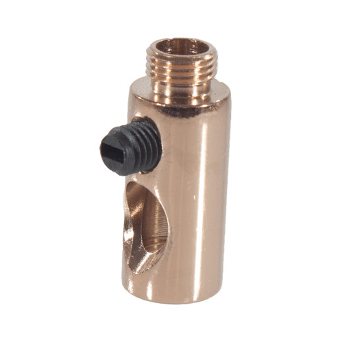Copper Side Entry Cord Grip For Side Wiring of a Lampholder 3266065