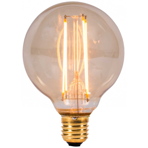 4w LED ES Globe Amber Dimmable [3466277] | Lampspares.co.uk