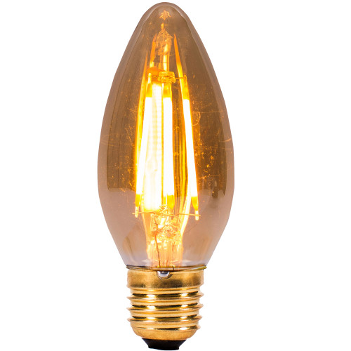 4w LED ES Candle Amber Dimmable [3466188] | Lampspares.co.uk