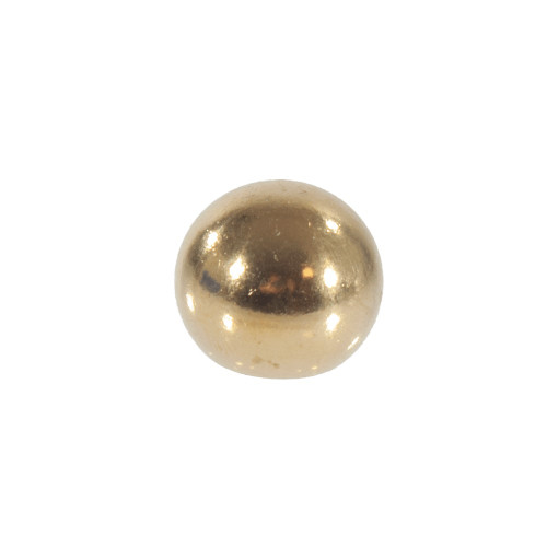 Brass Finial Ball With 10mm Thread 3543937 | Lampspares.co.uk