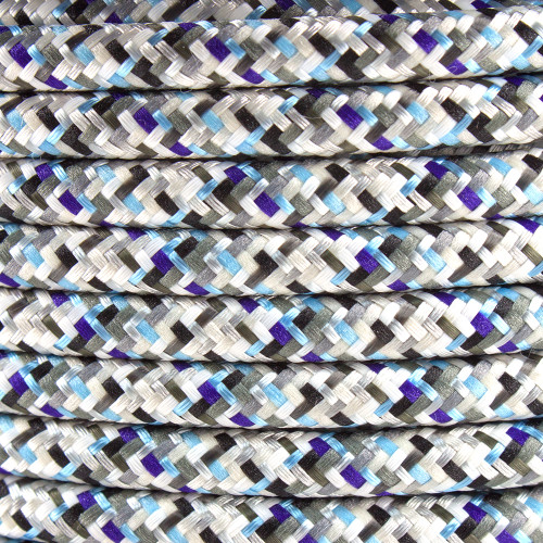 Pixel Ice Round Fabric Cable 3 Core 4200441