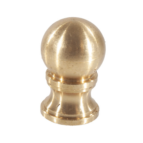 "Brass 1/4"" x 27 tpi Ball Finial 4502068 