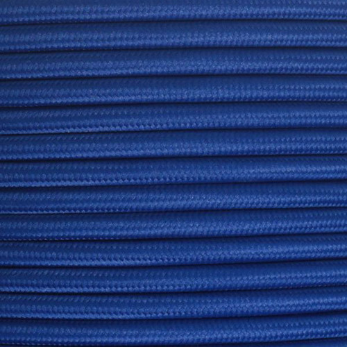 Royal Blue Round 3 Core Fabric cable 4545788