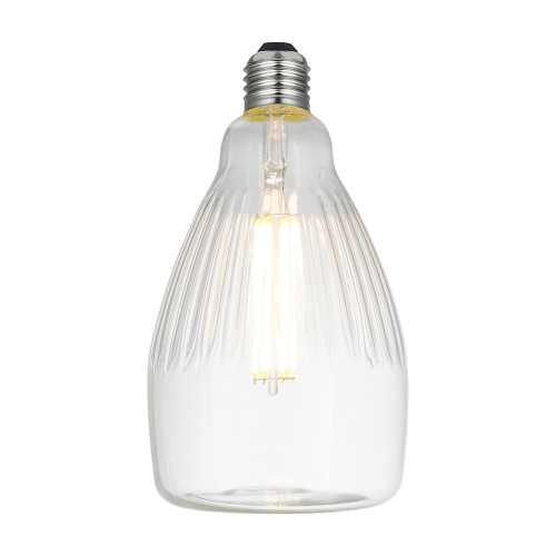 ES | E27 6w Deco Line Crystal Rea Filament LED Lamp 4927750 | Lampspares.co.uk