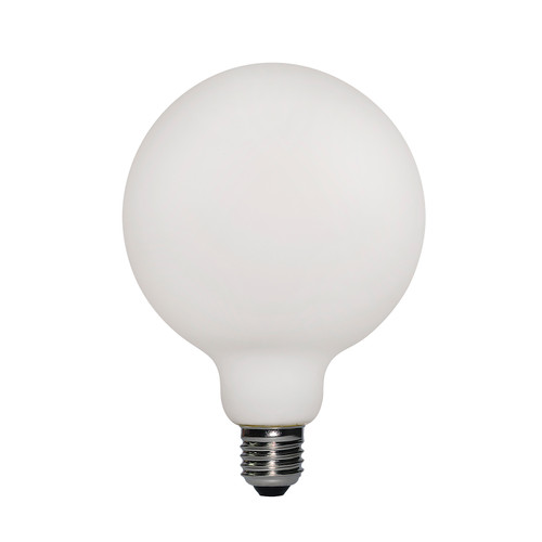 ES | E27 6w Interior Line White Frosted G95 LED Lamp 4927762 | Lampspares.co.uk