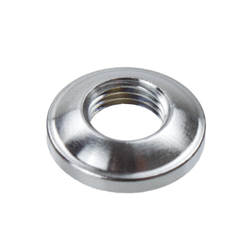 Chrome 10mm Dome Ring Nut 5022000