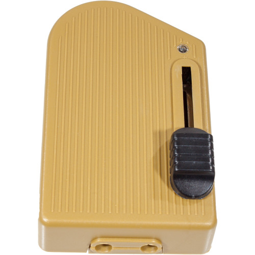 Gold Floor Foot Dimmer 5218363 | Lampspares.co.uk