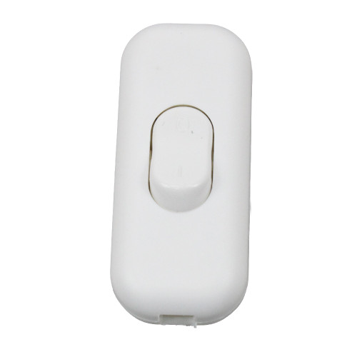 Double Pole 2A In Line Switch in White 36311 | Lampspares.co.uk
