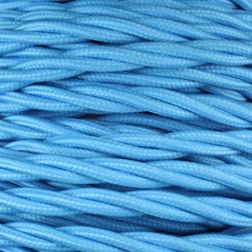 3 Core Braided Electric Blue Individually Twisted 0.75mm PLU53999