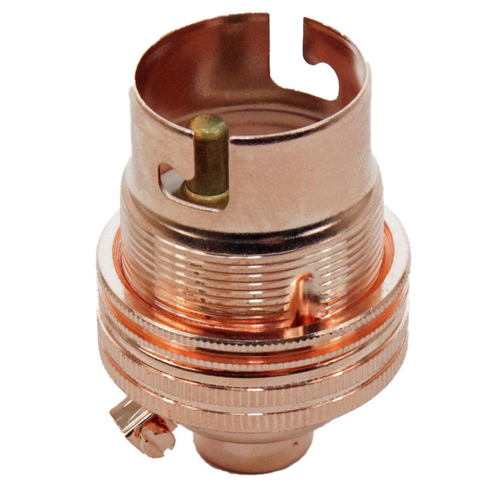 Copper Lampholder