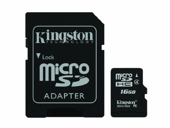 16GB Dash Cam Memory Card Pre-Formatted with Adapter (3 hours record time)