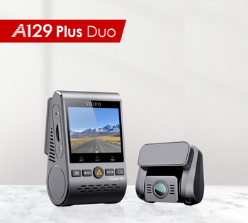 A129 PLUS DUO DUAL CHANNEL 4K FRONT 1080P REAR DASH CAMERA