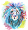Lion Removable Wall Decal