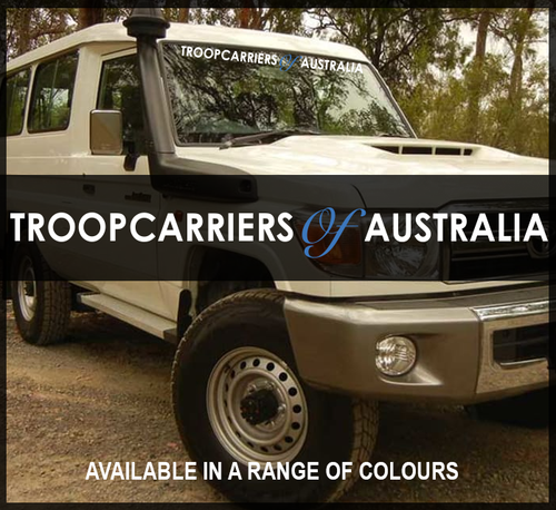 Troopcarriers of Australia 900mm Windscreen Decal