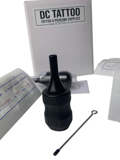 10x DCtattoo 30mm Disposable Adjustable Tattoo Cartridge Tube Grip & Needle Bars