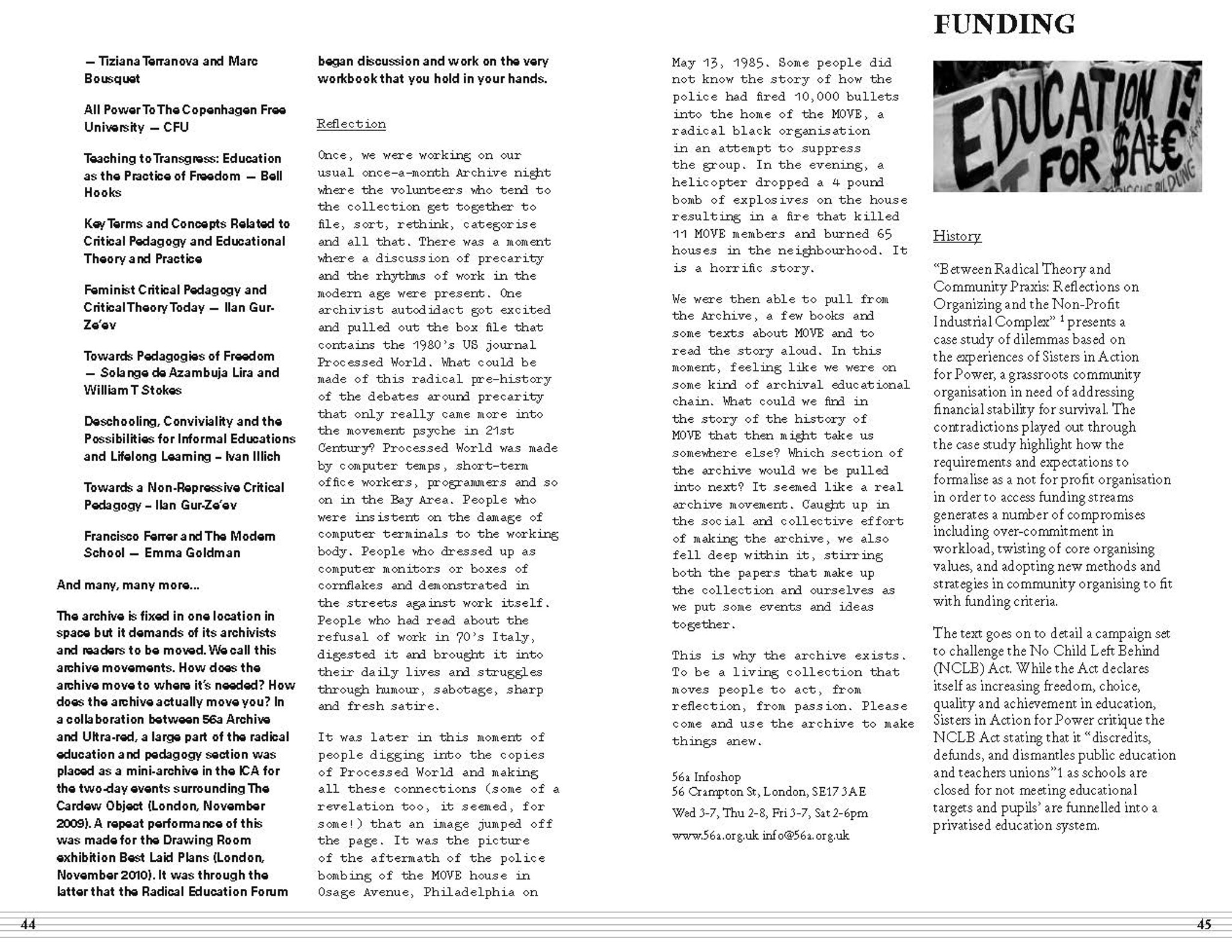 Ultra-Red Workbook 06: Radical Education Workbook [PDF-5