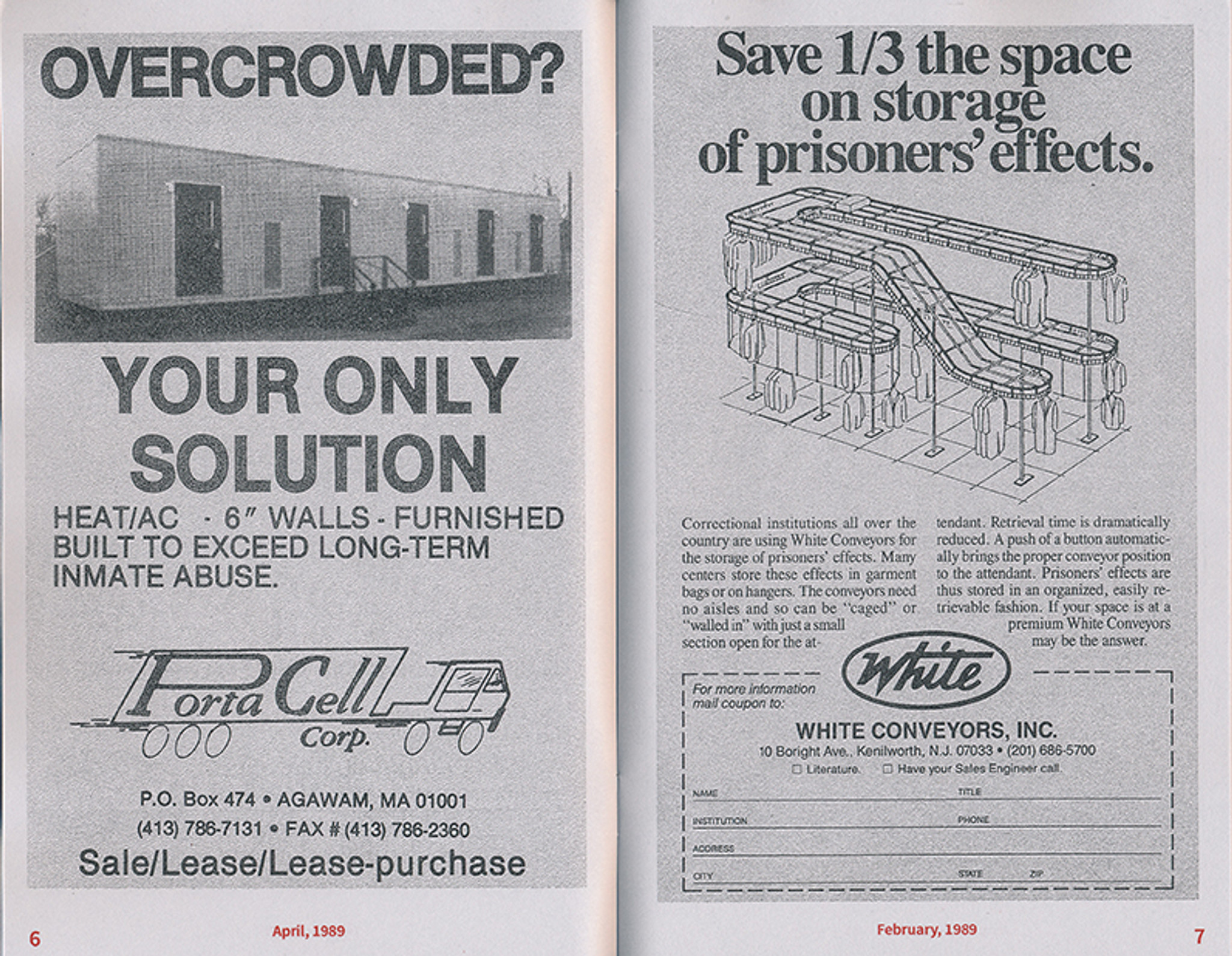 Library Excavations #1: Correctional Advertising 1979-1989