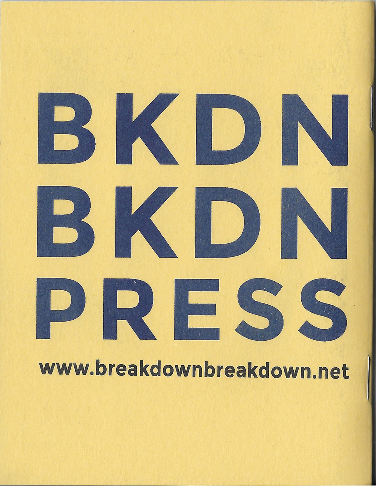 Break Down Workbook #4—Sonic Meditations: Immersive