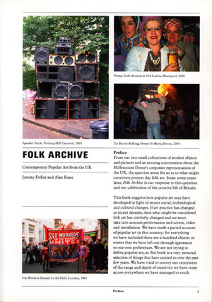 Folk Archive: Contemporary Popular Art from the Uk