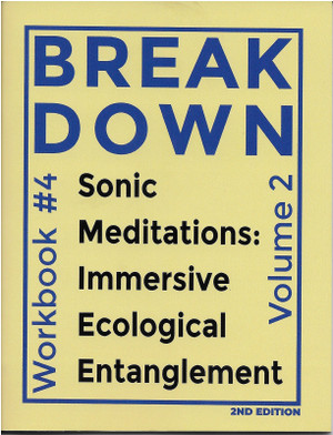Workbook #4—Sonic Meditations: Immersive Ecological Entanglement, Vol. 2, 2nd Ed.