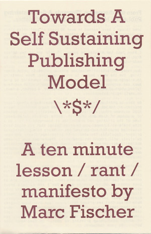 Towards A Self Sustaining Publishing Model
