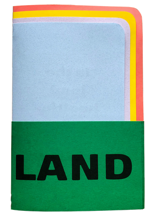 HEAL LAND—view of front cover