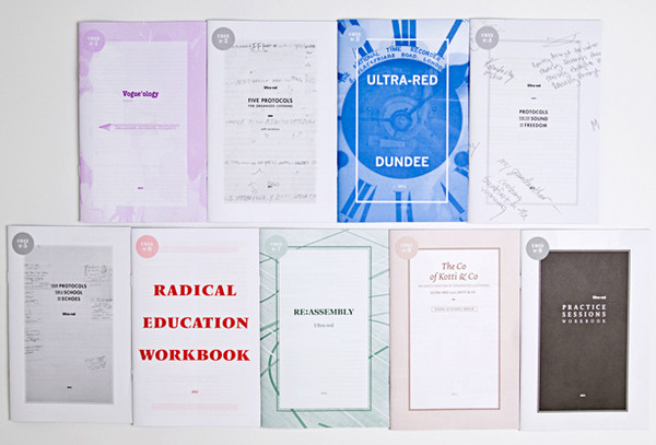 Ultra-red: Nine workbooks 2010-2014 [PDFs]