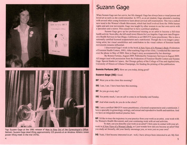 Temporary Conversations: Suzann Gage [PDF-5]