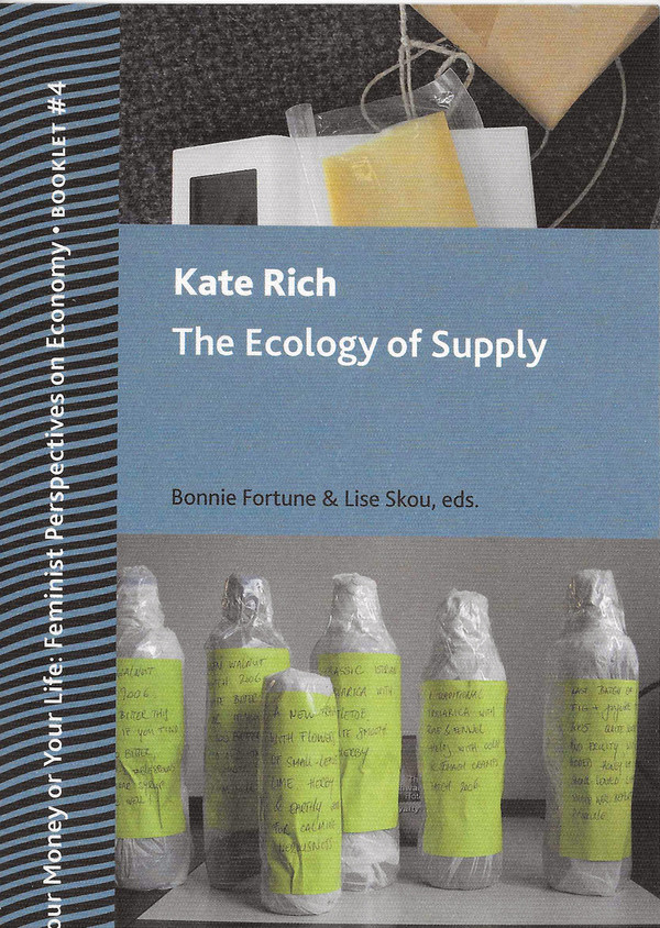 """Cover of Kate Rich's """"The Ecology of Supply"""""""