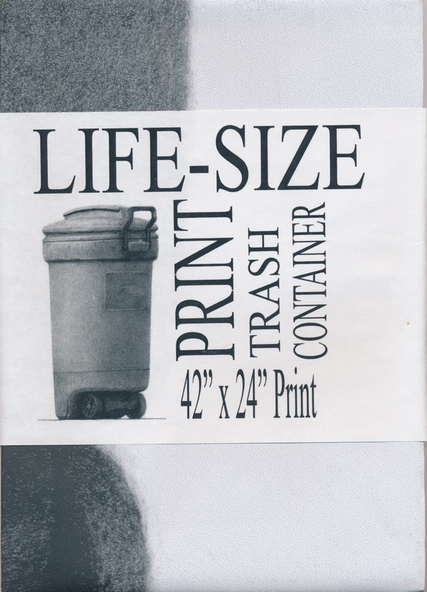 Life-Size Print: Trash Container