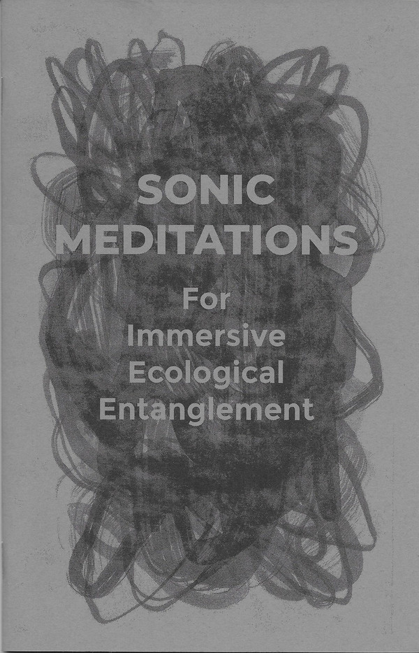 """Front cover of """"Sonic Meditations for Immersive Ecological Entanglement"""""""