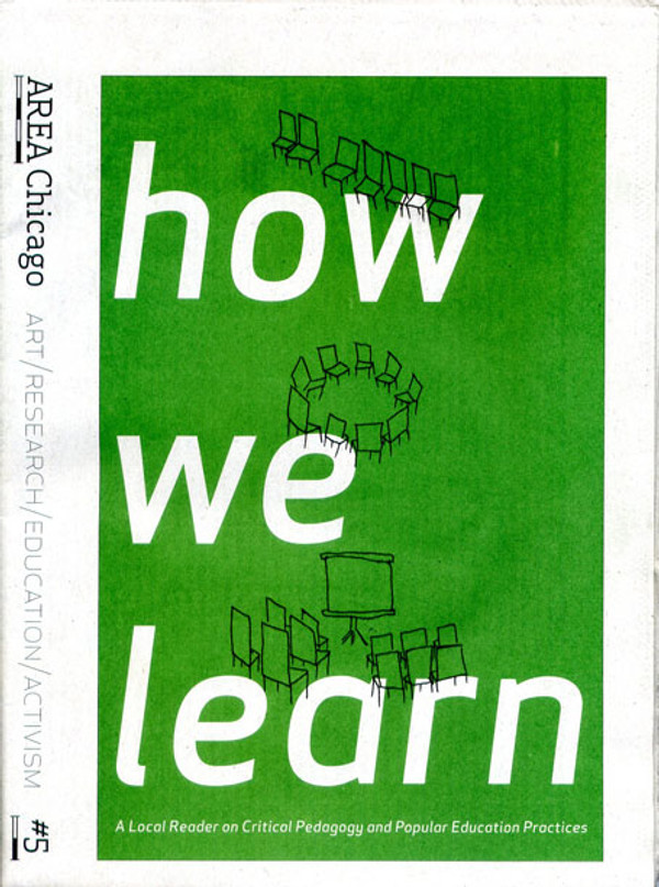 AREA Chicago #5: How We Learn