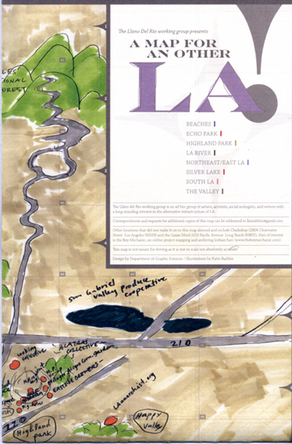 A Map For An Other LA (2nd Printing)