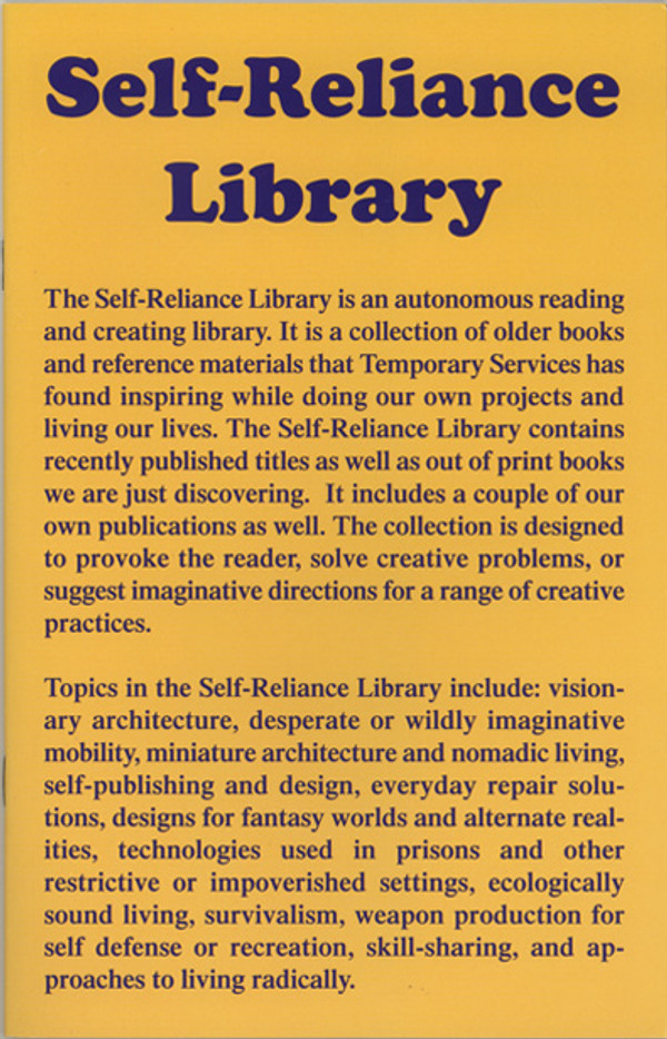 Self-Reliance Library