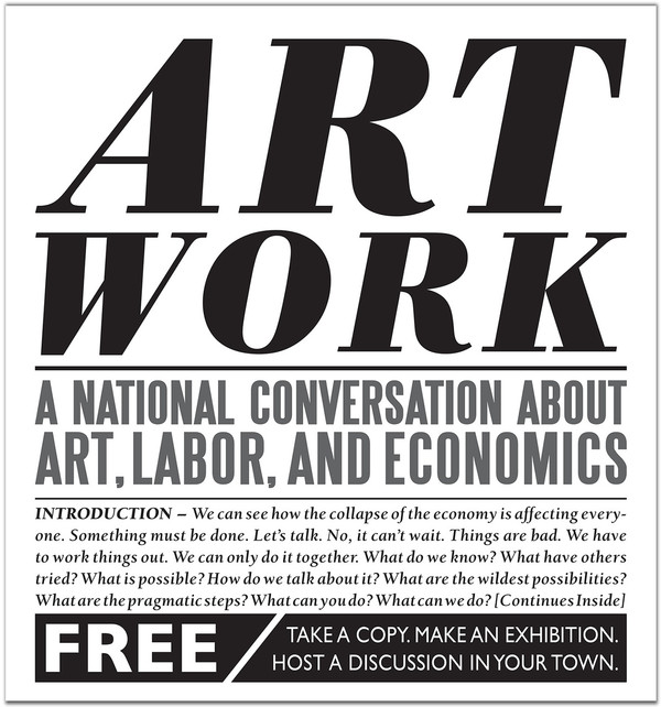 Art Work: A National Conversation About Art, Labor, & Economics [PDF]