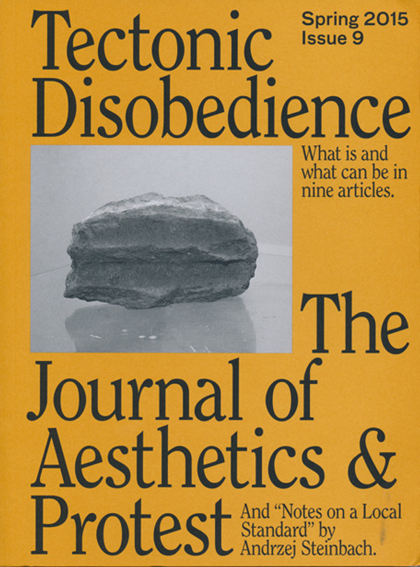 Journal of Aesthetics & Protest 9