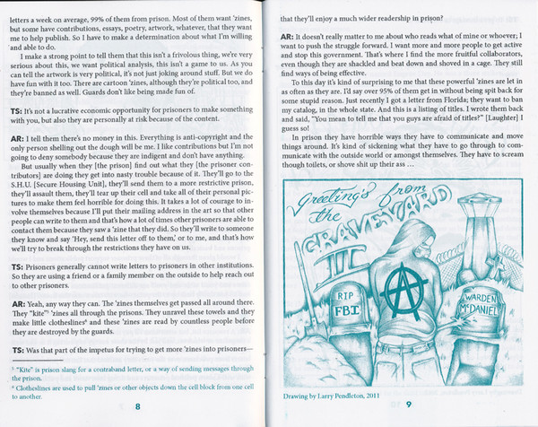 Publishing 'Zines for Prisoners: An Interview with Anthony Rayson [PDF]