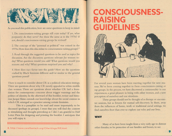 Trying to Make the Personal Political: Feminism and Consciousness-Raising