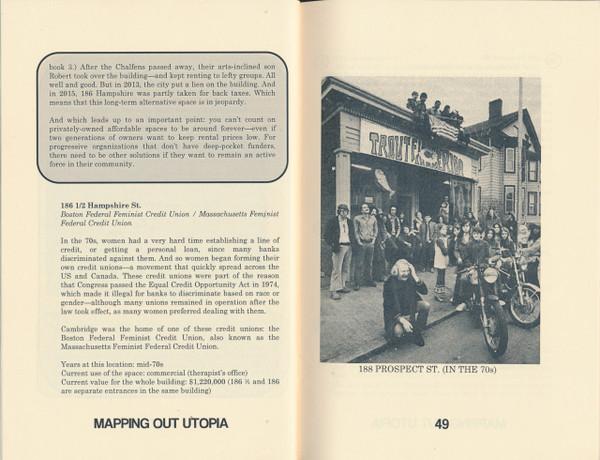 Mapping out utopia: 1970s Boston-area counterculture (Book 1: Cambridge)