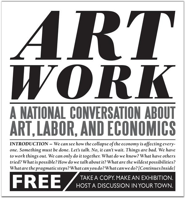 Art Work: Une Conversation Nationale Sur L'Art, Le Travail Et L'Économie [PDF]
