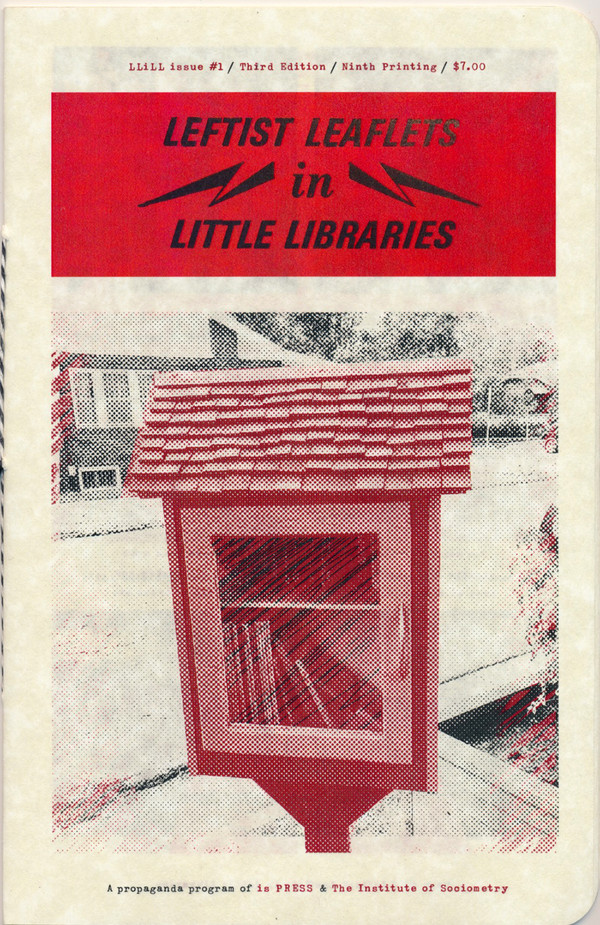 Leftist Leaflets in Little Free Libraries #1
