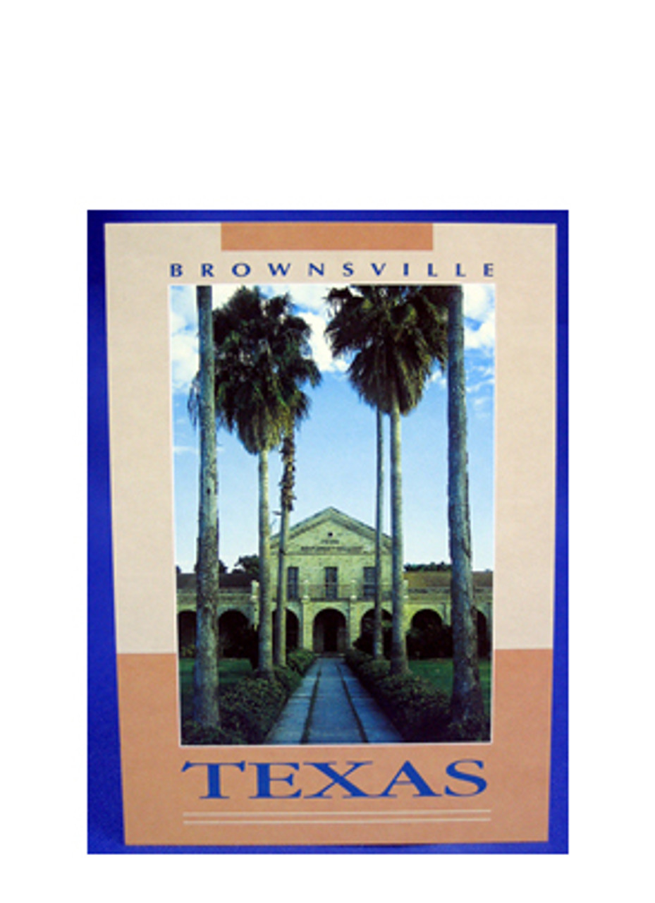 Fort Brown TX Southmost College Postcard