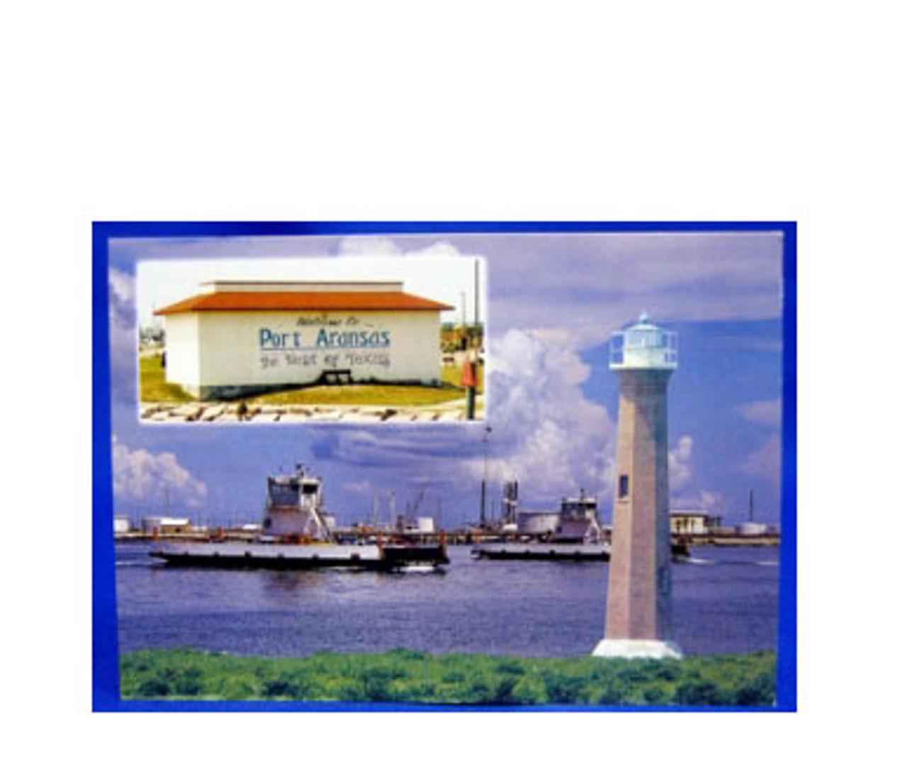 Welcome to Port Aransas Postcard