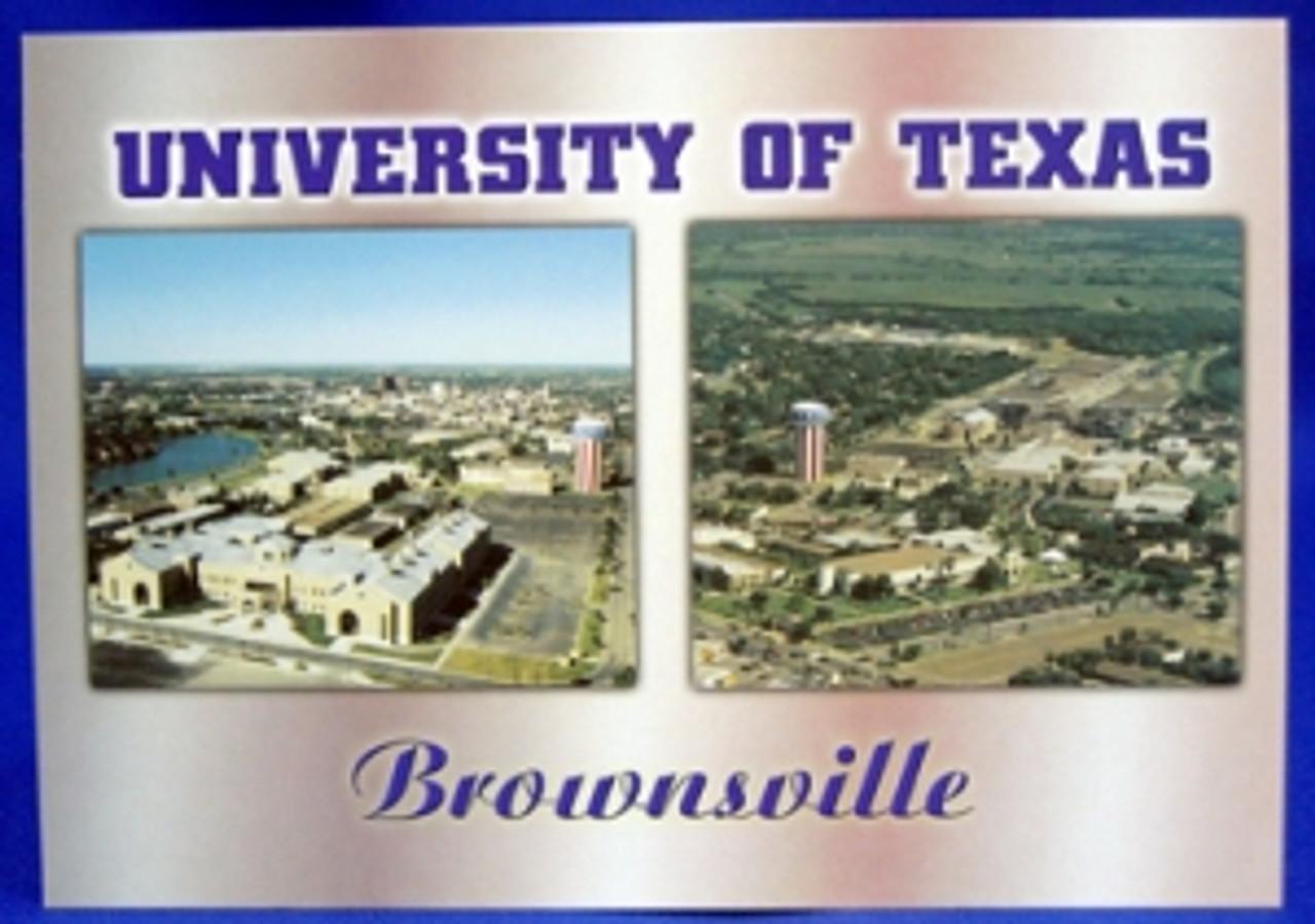 University Of Texas Brownsville Postcard
